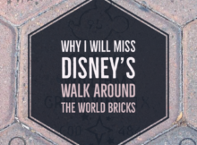 Remembering the Walk Around the World Bricks