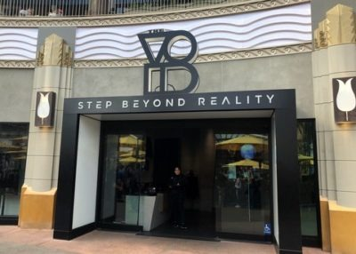 Void virtual reality in Downtown Disney