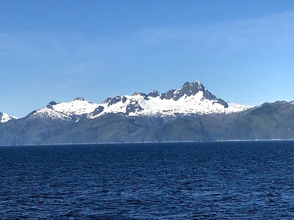 Alaska Mountains on Disney Wonder