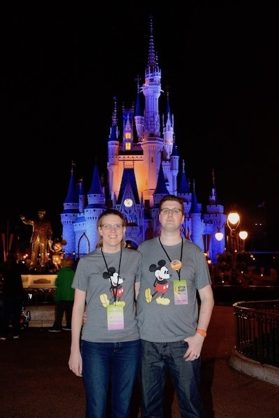 Cinderella's Castle at After Hours