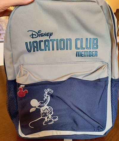 DVC free gift backpack