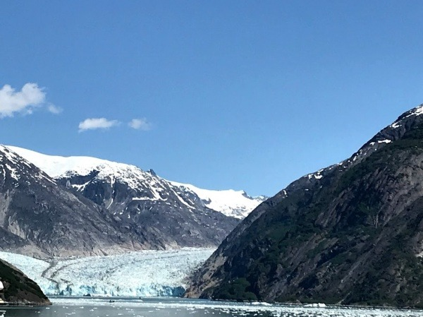 Dawes Glacier on Disney Wonder