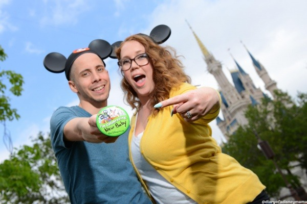 Mini Magic Kingdom Portrait Session - Baby Button