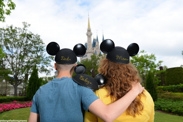 Mini Magic Kingdom Portrait Session - Mickey Hats