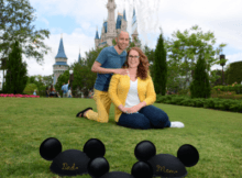 Disney Fine Art Photography - Baby Announcement