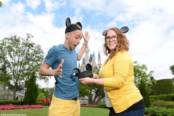 Mini Magic Kingdom Portrait Session - Surprise Mickey Ears