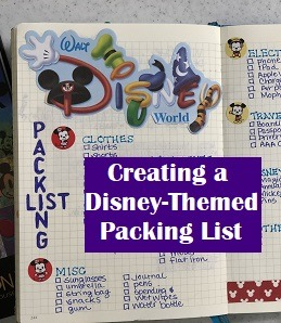 Disney-Themed Packing List
