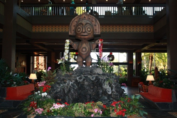 Split Stay Polynesian Resort Lobby | Split Stay