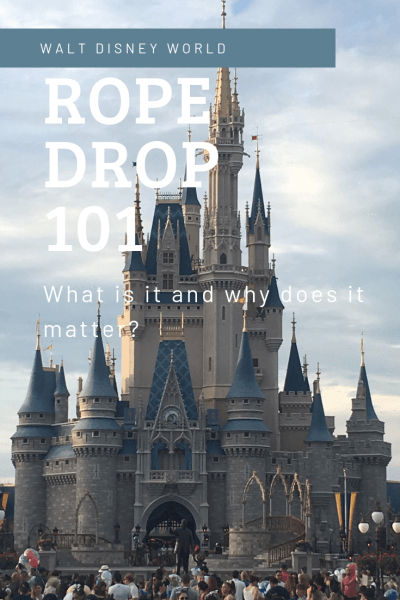 Rope Drop in Walt Disney World