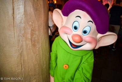 Dopey at Storybook Dining