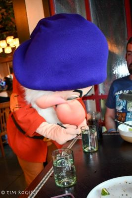 Grumpy at Storybook Dining