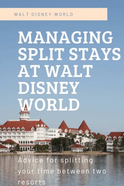 Managing Split Stays