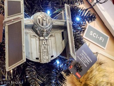 Star Wars Ornaments Darth Ship
