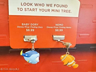 Nemo and Dory Ornaments