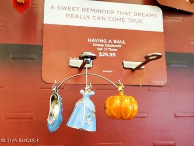 Cinderella mini ornaments