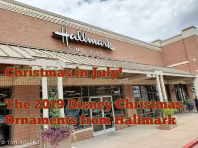 Hallmark Christmas In July 2019.Christmas In July The 2019 Disney Hallmark Ornaments