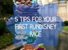 5 Tips for your first runDisney race