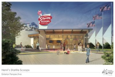 Plans for Henri's Starlite Scoops
