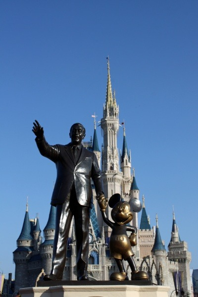 Walt Disney World Walt and Mickey