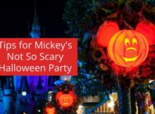 Tips for Mickey's Not So Scary Halloween Party