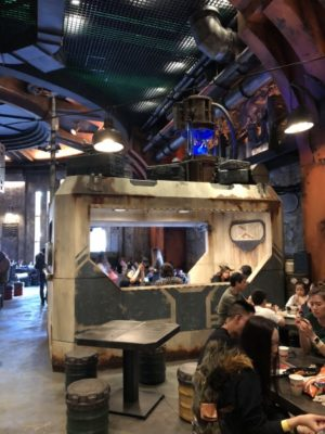 Galaxy's Edge a Crash of Fate visits Oga's Cantina | Galaxy's Edge A Crash of Fate
