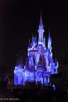 Once Upon a TIme Nighttime Castle