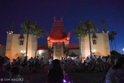 Nighttime Chinese Theater
