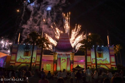 Nighttime Chinese Theater Fireworks
