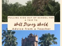 Disney trip during the school year