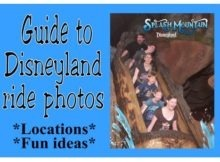 Disneyland ride photos
