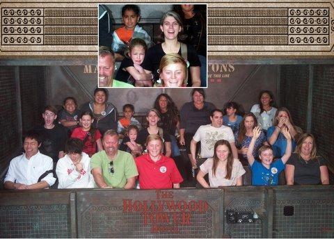 Disneyland ride photos