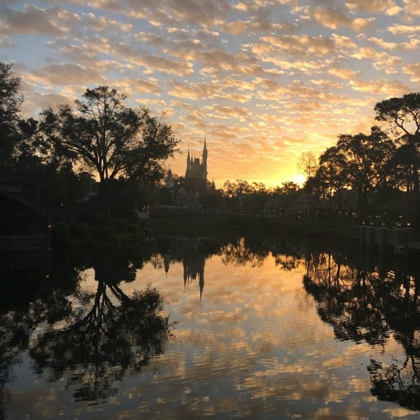 runDisney sunrise