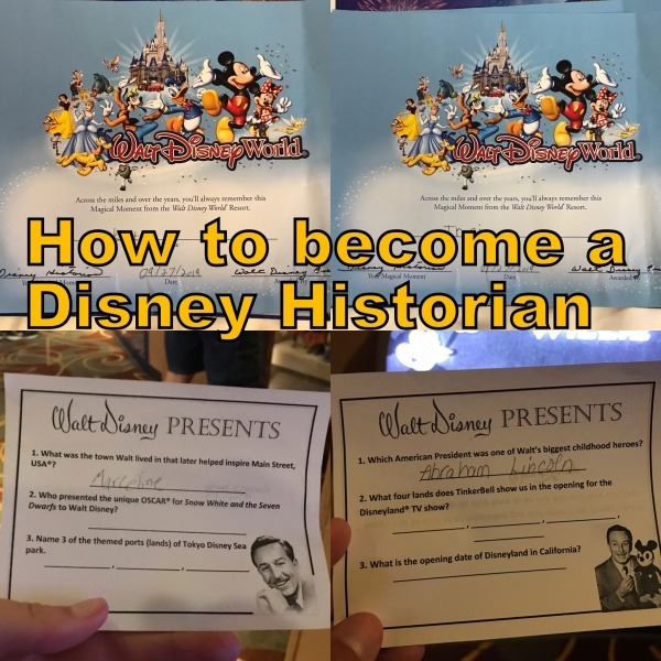 How to become a Disney Historian