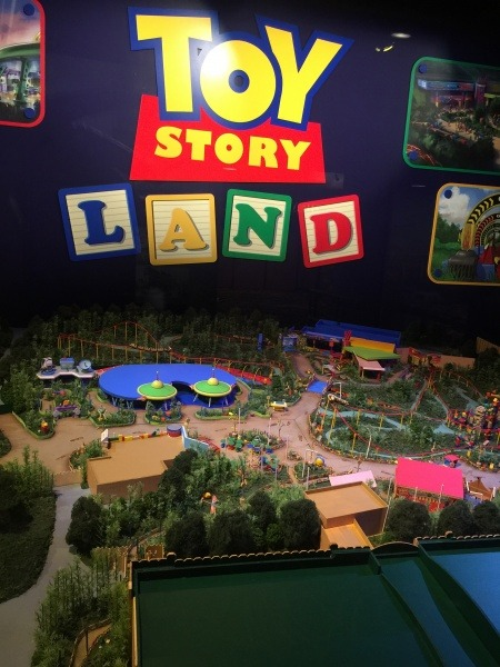 Walt Disney: One Man's Dream Toy Story Land model