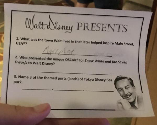 Disney Historian questions