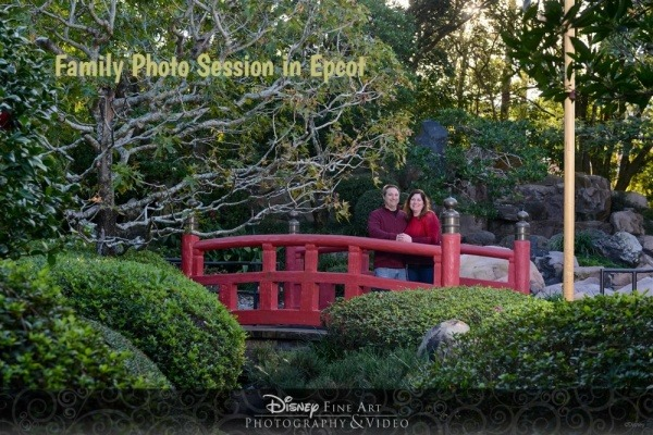 Family Photo Session in Epcot