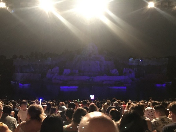 Fantasmic! dining package seats