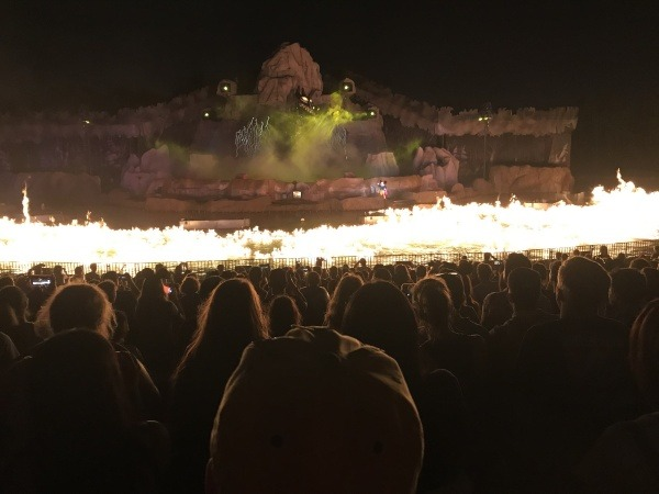 Fantasmic! fire