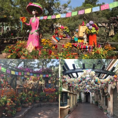 Celebration of the dead in Frontierland
