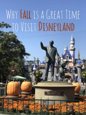 Disneyland in the Fall