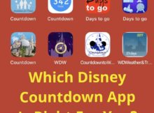 Disney Countdown Apps
