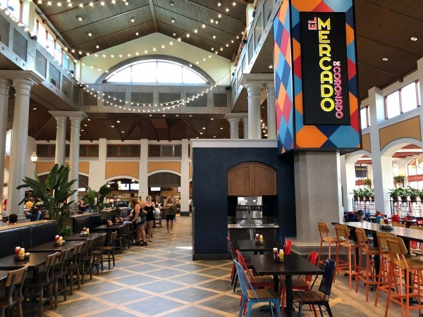 El Mercado de Coronado food court | Hidden Gems at Gran Destino Tower