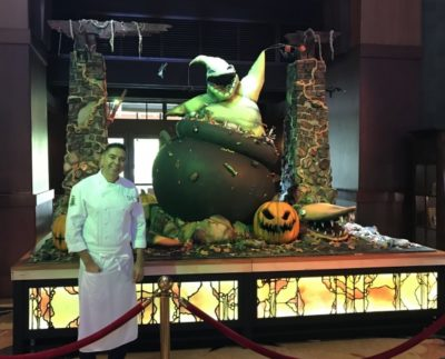 Grand Californian Executive Pastry Chef | Oogie Boogie