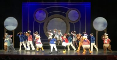 Disney Cruise Line nightly shows