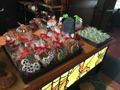 cookies and treats at Grand Californian | Oogie Boogie