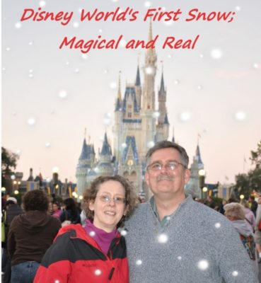 Disney World's First Snow