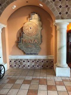 Maya Grill- Entry