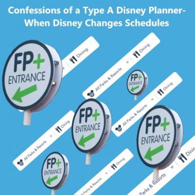 Type A Disney Planner