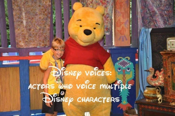 voices of Disney characters