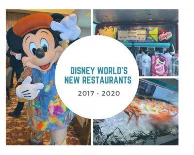 Disney World's New Restaurants